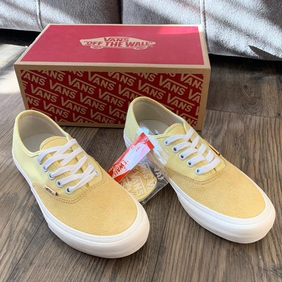 Vans Authentic Pro Pale Banana Sneakers